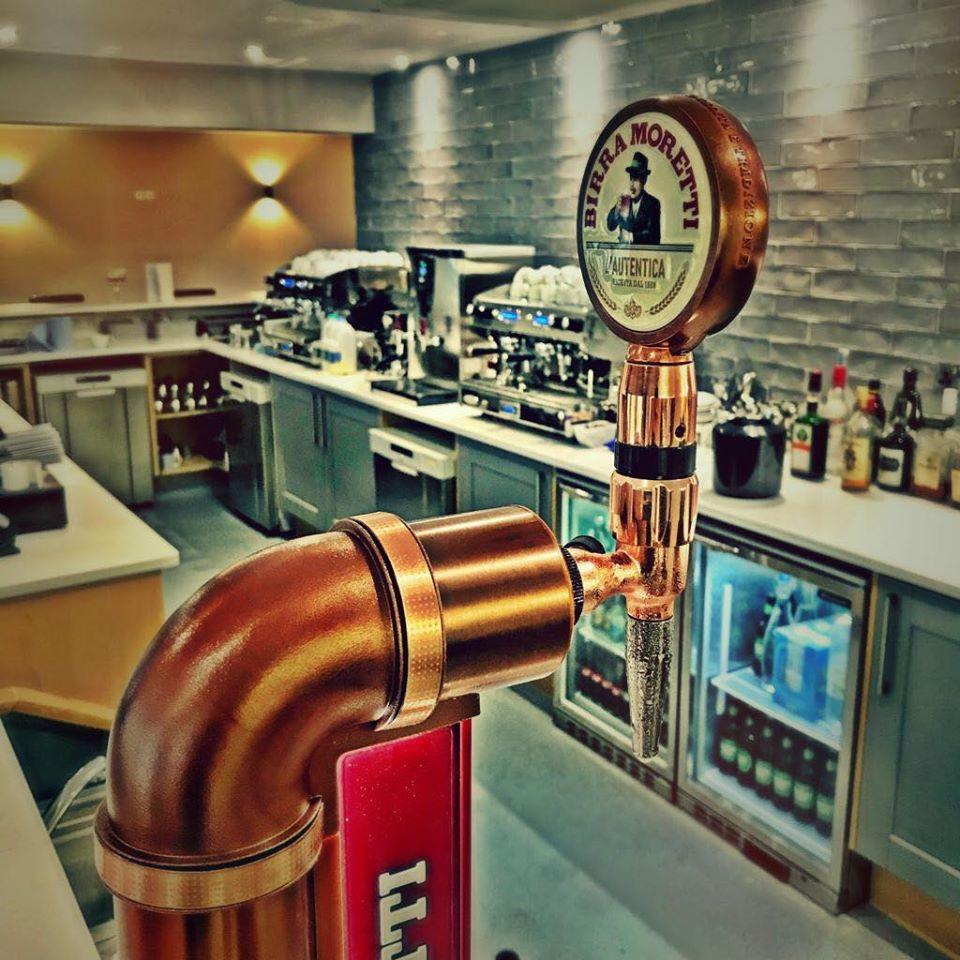 The Bar at The Waterfront Cafe at York Marina
