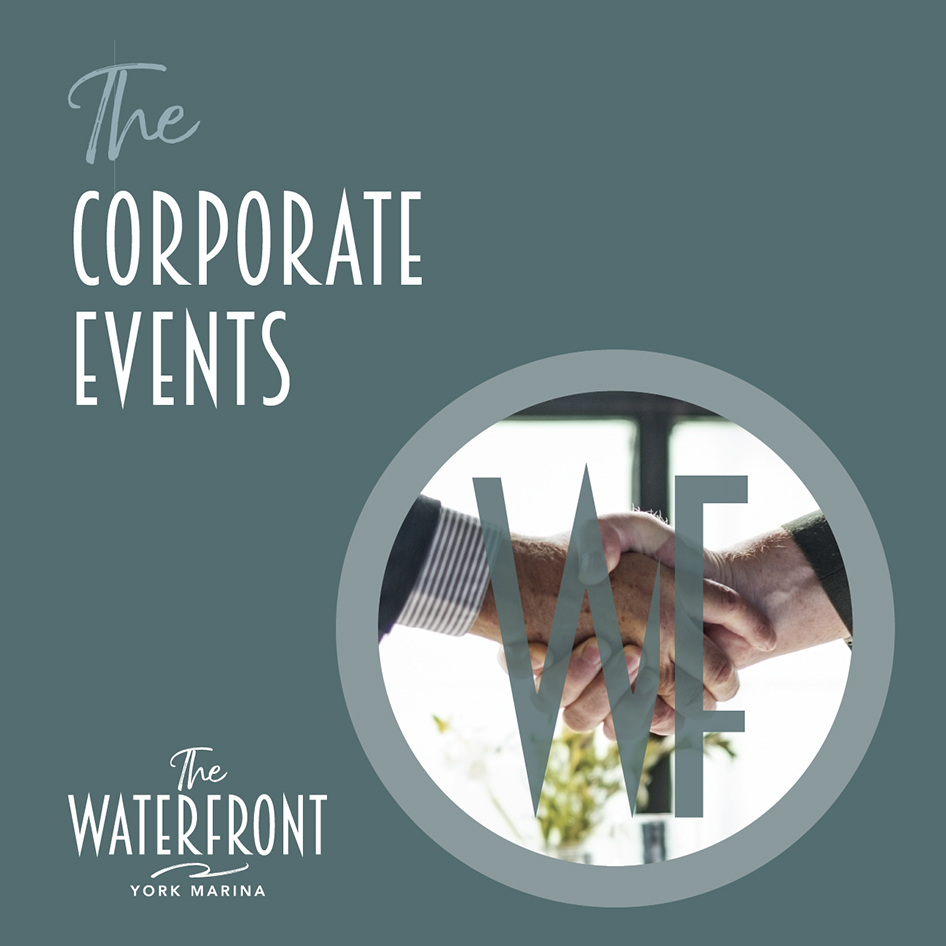 Corporate Events Brochure at The Waterfront Cafe at York Marina